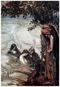 siegfried-and-twilight-of-gods-Art by Arthur Rackham- London1911