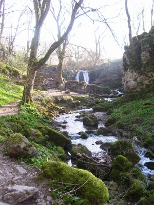 hiking across the Yorkshire  Dales